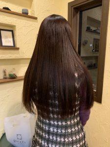 髪質改善カラーエステ着実確実に結果が出る〜群馬県前橋市の美容室〜