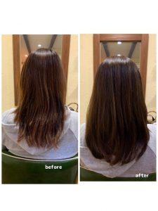 髪質改善カラーエステでお髪のメンテナンス〜群馬県前橋市の美容室〜