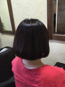 髪質改善ショートスタイルおしゃれなカラーエステ〜群馬県前橋市の美容室〜