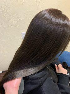 髪質改善ヘアエステのハイトーンカラーに色味入れて楽しむ〜群馬県前橋市の美容室〜