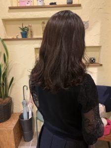 髪質改善デジタルパーマエステで華やかなパーマに〜群馬県前橋市の美容室〜