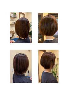 髪質改善カラーエステとスタイルチェンジ〜群馬県前橋市の美容室〜