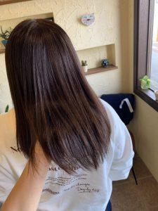 髪質改善カラーエステベストな調合を探しながら髪色を変える〜群馬県前橋市の美容室〜