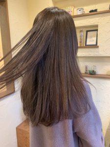 髪質改善カラーエステ白い髪にも綺麗になじむ〜群馬県前橋市の美容室〜